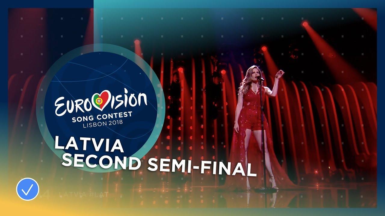 Eurovision 2018 Latvia Laura Rizzotto Quot Funny Girl Quot