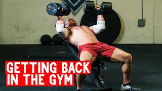 Tips for Getting Back in the Gym
