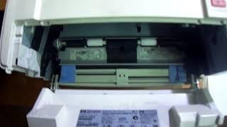 HP 1160 белый лист