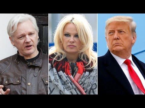 Pamela Anderson Requests Trump Meeting To Pardon Assange