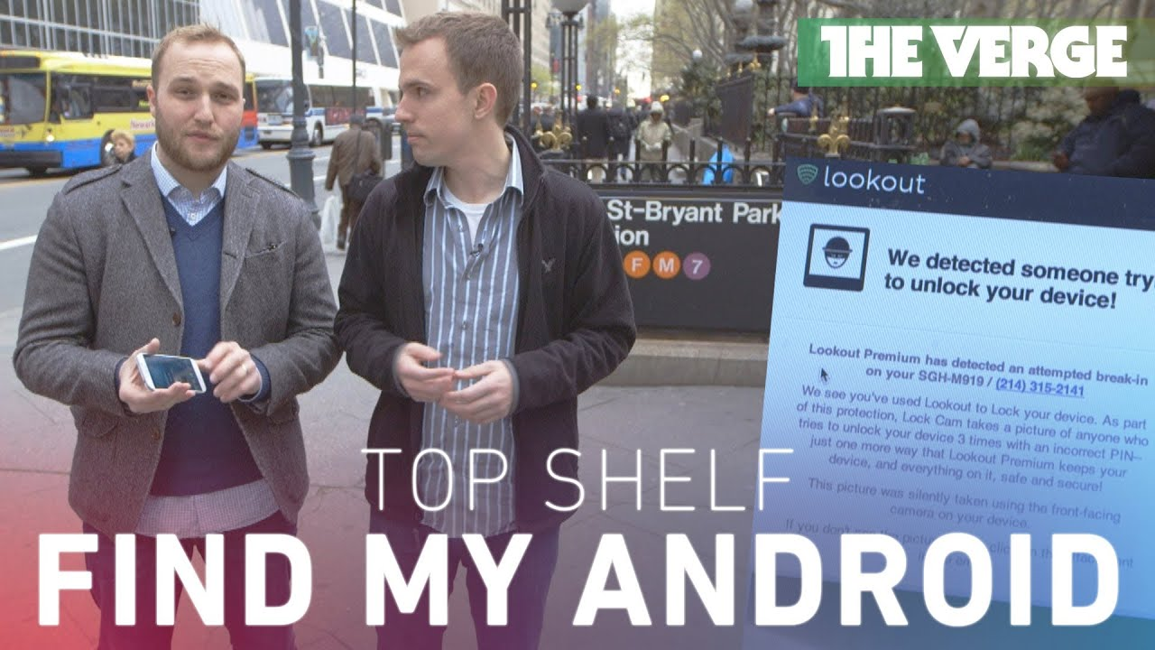 Top Shelf: find my Android thumbnail