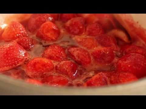 Food Wishes Recipes – Strawberry Sauce Recipe – Fresh Strawberry Sauce – Ice Cream and Cheesecake Sauce
