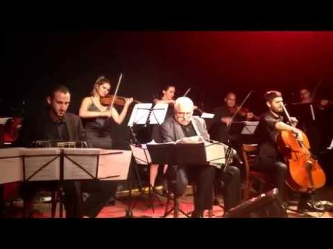 Playing tango (Piazzolla) with the Astoria Tango Orchestra.
