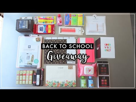 Back to School Giveaway | ilikeweylie