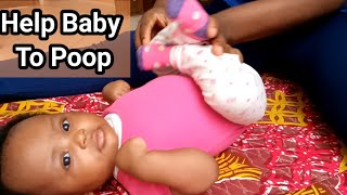 How To Help Your Baby Poop Instantly/Two method to help baby to poop