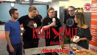 PietSmiet in der Media Markt Koch Show - Koch Mit!