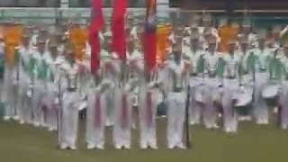 陸軍高中鼓號樂隊(舊鼓)出發鼓加海軍陸戰隊
