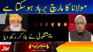 First Ever Prediction of Fazal Ur Rehman Azadi March | Tajzia with Smai Ibrahim