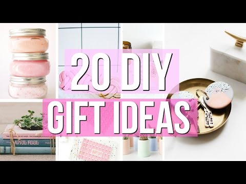 20 DIY Holiday Gift Ideas! Last Minute Gift Ideas 2016! DIY GIFTS!