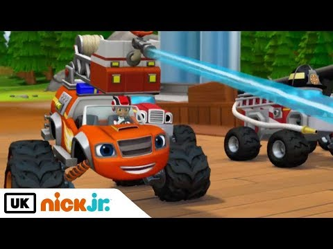 Blaze and the Monster Machines | Fired Up! | Nick Jr. UK