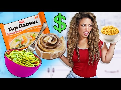 Video 7 CHEAP RECIPES EVERY COLLEGE STUDENT NEEDS!