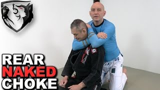 How to Apply TIGHTEST Rear Naked Choke for MMA/BJJ