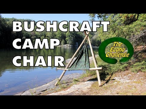 Diy Backpacking Chair Uses Found Wood To Keep Weight Down