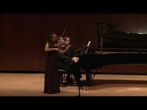 Performance of Beethoven' Violin Sonata No. 2 in October 2019.