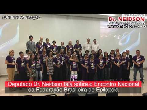 VÍDEO:DR. NEIDSON FALA SOBRE O ENCONTRO NACIONAL DA FEDERAÇÃO BRASILEIRA DE EPILEPSIA