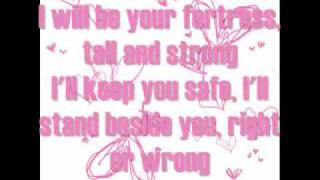 For You I Will - Tata Young Lyrics On Screen