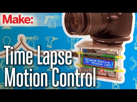Build Your Own Motion Control, Time-Lapse Photography Rig