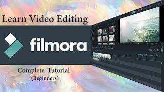 Filmora Video Editing Tutorial For Beginners | Full Course | Hindi