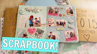 My DIY Anniversary Scrapbooks + Scrapbooking Process! VLOGMAS Day 20!