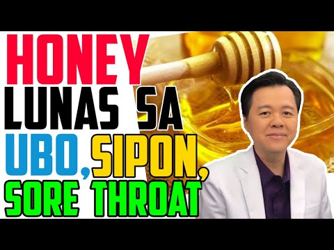 , title : 'Honey: Lunas sa Ubo, Sipon, Sore Throat – by Doc Willie Ong #974