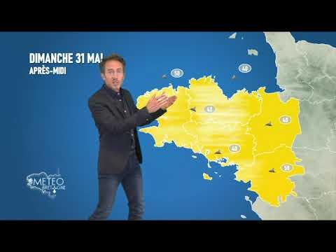 Illustration de l'actualité Bulletin météo pour le dimanche 31 mai et tendance ultérieure