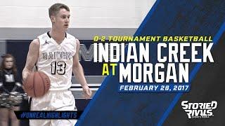 HS Basketball | Indian Creek at Morgan [TOURNAMENT] [2/28/17]