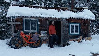 Cabin Life - Winter Overnight in the Mountains