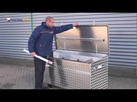 Aluminium Werkzeugkiste für Transporter - die clevere Alukiste im Detail - HKL Baushop