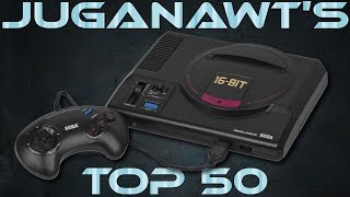 Top 50 Sega Megadrive / Genesis Games of all Time (in HD)