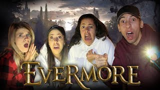 The Hacker sent us BACK IN TIME! Magical Adventure in real life! (Evermore Park)