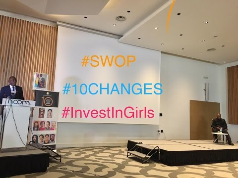 Investing in 10 year-old girls. West and Central Africa launch of SWOP 2016