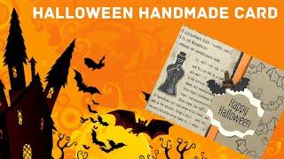 How To Make A Handmade Halloween Greeting Card