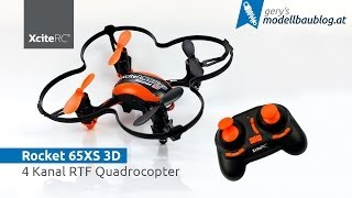 Rocket 65XS 3D - Quadrocopter von XciteRC