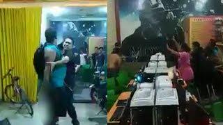 Viral Video Pria Bacok Penjaga Warnet di Medan, Berawal dari Cekcok