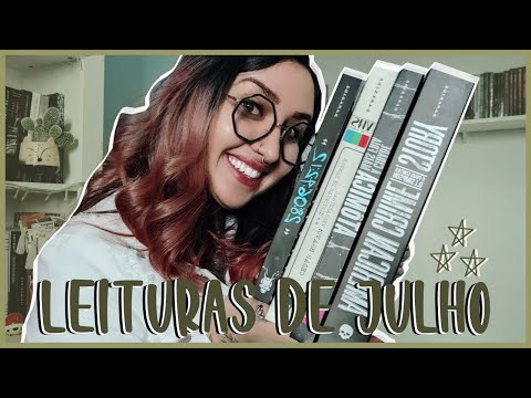 AS 13 LEITURAS DE JULHO (2020) | por Carol Sant
