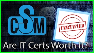 Cyber Security Minute: Are IT Certifications Worth It?