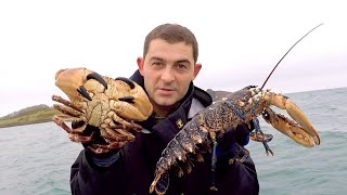 How to use Lobster and Crab Traps - Small Boat fishing
