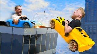 Rooftop Sumo Battle! | GTA5