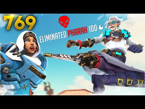 Junkrat Goes Ninja MODE!! | Overwatch Daily Moments Ep.769 (Funny and Random Moments)
