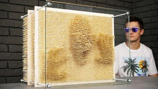 DIY Amazing Pin Art from Wood