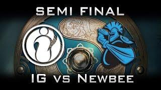 IG vs Newbee TI7 Semi Final Highlights The International 2017 Dota 2