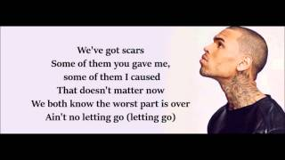 Chris Brown   Right Here   With Lyrics