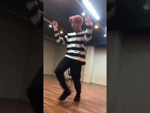 BTS Jimin Interrupting Jungkook's Euphoria Dance Practice