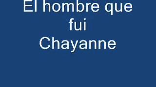 El Hombre que  fui ( Chayanne)