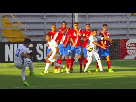 CU20 2017: Costa Rica vs El Salvador Highlights