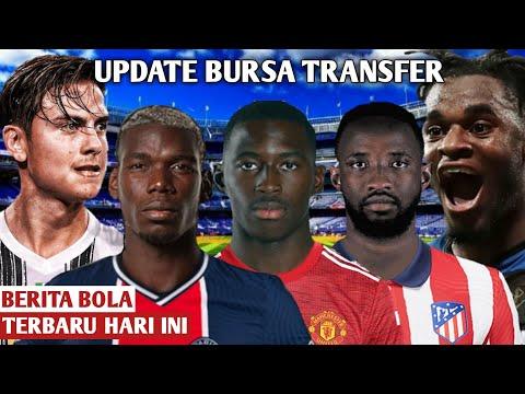 Transfer Pemain Resmi Terbaru 2021  Dembele Resmi Ke Atletico Madrid   Pogba Ke PSG   Soumare Ke MU