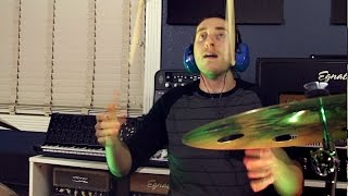 The Word Alive - 94th St. - Erik Martin Drums