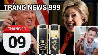 Donald Trump trở thành tổng thống thứ 45 của Mỹ   TRẮNG NEWS 999   9-11-2016