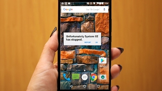 How to Fix Unfortunately System UI has stopped in Android Phone & Tablet