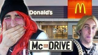Trisha Und Lexa Bei MC Drive